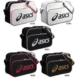 アシックス エナメルショルダーバッグL EBA511 20%OFF! バスケット バレー サッカー バッグ ショルダー ASICS 2015年モデル 取寄品 chispo