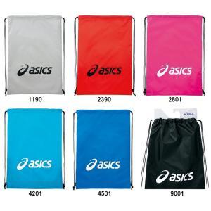 取寄品  アシックス ライトバッグ Lサイズ EBG440 ランドリーバッグ 収納 巾着 ASICS ゆうパケット対応|chispo