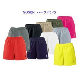 ゴーセンハーフパンツ PP1601バドミントン テニス ウエアレディース ウィメンズ 女性用GOSEN 2016年春夏モデル ゆうパケット対応 在庫品