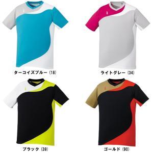 ゴーセン ユニ ゲームシャツT1708バドミントン テニス 半袖 ユニセックス ジュニアサイズ GOSEN 2017年春夏モデル ゆうパケット(メール便)対応 在庫品|chispo