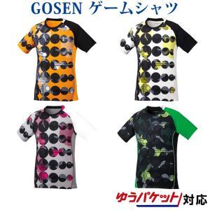在庫品 ゴーセン  ユニ ゲームシャツ T1804 2018SS|chispo