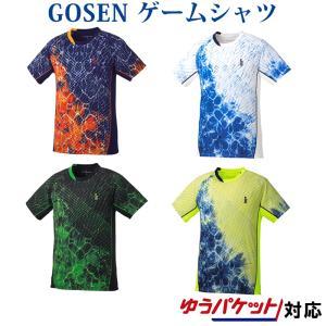 在庫品 ゴーセン  ユニ ゲームシャツ T1806 2018SS|chispo