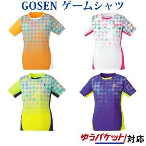 在庫品 ゴーセン レディース ゲームシャツ T1807 2018SS ゆうパケット(メール便)対応