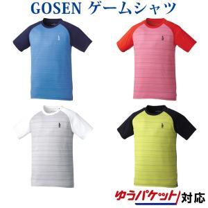 在庫品 ゴーセン  ユニ ゲームシャツ T1808 2018SS|chispo