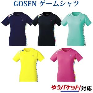 在庫品 ゴーセン  レディース ゲームシャツ T1809 2018SS