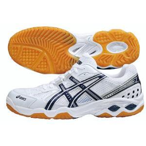 アシックス バレーボールシューズ ローテ サーパスX 3 LO-slim ホワイト×ネイビーブルー TVR450-0150 50%OFF! ASICS 特バレー靴 在庫品|chispo