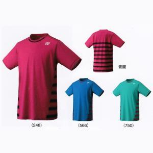 ヨネックスJUNIOR シャツ10166Jバドミントン テニス ウエア ゲームシャツ ジュニア 子供用YONEX 2017年春夏モデル ゆうパケット(メール便)対応 在庫品|chispo