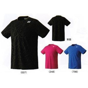 ヨネックス UNIシャツ 10180 バドミントン テニス ゲームシャツ ユニフォーム メンズ ユニセックス YONEX 2017年春夏モデル ゆうパケット(メール便)対応 在庫品