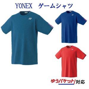 ヨネックスゲームシャツ 10304 メンズ 2019SS バドミントン テニス ゆうパケット(メール便)対応   2019最新 2019春夏