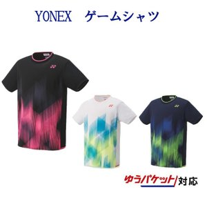 ヨネックス ゲームシャツ(フィットスタイル) 10321 メンズ 2019SS バドミントン テニス ゆうパケット(メール便)対応 【メール便2点まで】