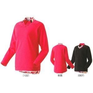 ヨネックス ロングスリーブTシャツ 16226 25%OFF! バドミントン テニス ウエア シャツ 長袖 ウィメンズ レディース 女性用 YONEX 2015年春夏モデル 在庫品|chispo