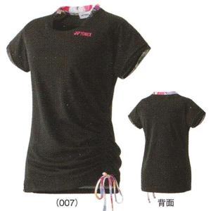 ヨネックス フィットTシャツ 16233 ゆうパケット対応 バドミントン テニス ウエア シャツ 半袖 ウィメンズ レディース 女性用 YONEX 2015年春夏モデル 在庫品|chispo