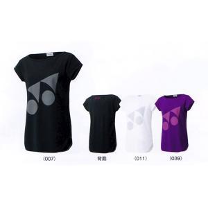 ヨネックス ウィメンズ べリークールTシャツ 16254 バドミントン テニス シャツ 半袖 レディース 女性用 YONEX 2015年秋冬モデル ゆうパケット対応 在庫品|chispo
