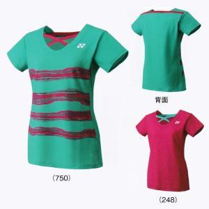 ヨネックスJUNIOR GIRLS' シャツ20341J バドミントン テニス ゲームシャツジュニア ガールズ YONEX 2017年春夏モデル ゆうパケット(メール便)対応 在庫品|chispo
