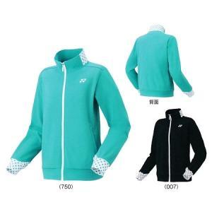 ヨネックスニットウォームアップシャツ 58078バドミントン テニス ウエア ウォームアップレディース ウィメンズ 女性用 YONEX 2017年秋冬モデル 在庫品|chispo