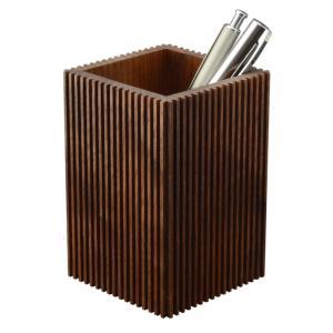 ペンスタンド ブラックウォールナット バーチカル ペン立て 木製 ウォルナット シンプル おしゃれ 雑貨 高品質 上質 ギフト プレゼント 贈り物 社内 上司 chisui