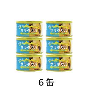 木の屋石巻水産 サラダサバ あっさり塩味 170g 6缶|chitoseya
