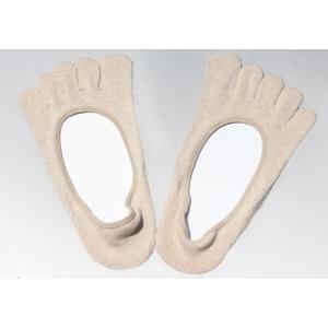 オーガニックコットン 5本指パンプスインソックス 五本指靴下|chiyoji