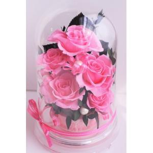 母の日 プリザーブドフラワー ギフト ピンクの薔薇  new...