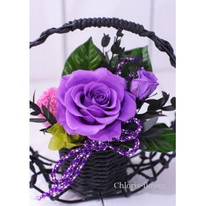プリザーブドフラワー 和風 紫 C卑弥呼 chloris-flower