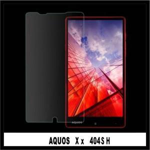 【送料無料】日本製ガラス使用  SoftBank AQUOS Xx 404SH/Y! Mobile AQUOS Xx-Y 404SH共用 フィルム 強化ガラスフィルム|chobobubu