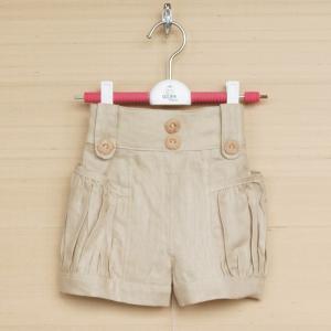 ショートパンツ タックポケット 涼しい生地   chobobubu