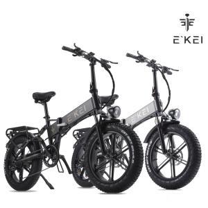 ファットバイク アシスト自転車 20インチ マウンテンバイク500W 48V15An 極太タイヤ スノーホイール フル電動アシスト自転車|chobobubu