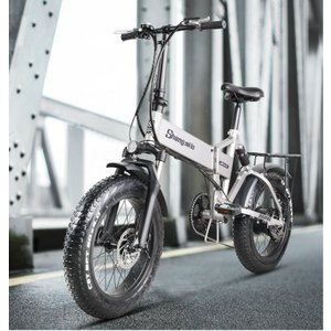 Shengmilo Mx21ファットバイク 電動アシスト自転車 マウンテンバイク 500W 48V12.8An迫力の極太タイヤ20×4.0折りたたみ自転車 スノーホイール 7段変速|chobobubu