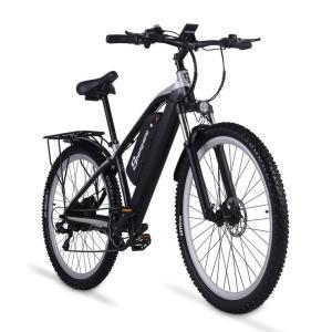 ShengmiloM90電動アシスト折り畳み自転車 26インチ 21段変速 350w*12.8ahリチウムバッテリーマウンテンバイク 2色選択可能|chobobubu
