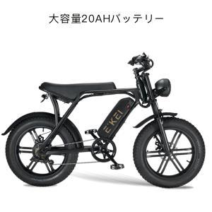 ShengmiloMX20S ファットバイク 電動アシスト自転車 20インチ マウンテンバイク500W 48V15An 極太タイヤ20×4.0 スノーホイール キャストホイール(一体型)|chobobubu