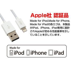 lightningケーブル USB コネクタが両面挿し対応 AV-LCWT100 AV-LCWT20|chobt|03