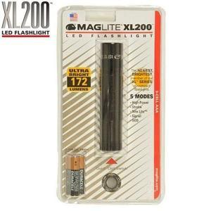 LED トーチ 懐中電灯 172ルーメン 高輝度 MAGLITE マグライト XL200 LED|chobt
