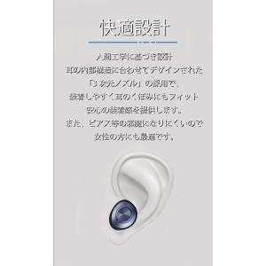 n|a 完全ワイヤレスイヤホン D45 TWS Bluetooth5  小型超軽量4.5g  高感度アンテナ マイク内蔵 ハンズフリーステレオ通話 自動再接続 送料無料|chobt|12