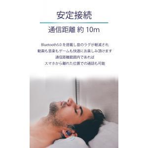 n|a 完全ワイヤレスイヤホン D45 TWS Bluetooth5  小型超軽量4.5g  高感度アンテナ マイク内蔵 ハンズフリーステレオ通話 自動再接続|chobt|13