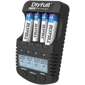 急速充電器 充電池用 ニッケル水素電池 ニッカド電池 Ni-MH Ni-CD 単3/単4形 急速充電 放電 リフレッシュ DLYFULL NT1000 送料無料|chobt|03