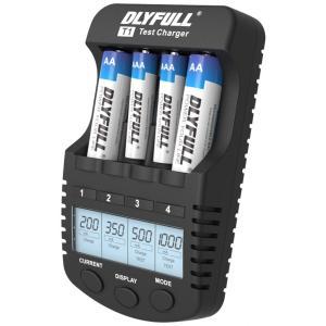 【送料無料】急速充電器 充電池用 DLYFULL T1 Ni-Cd/Ni-MH 単三(AA)/単四(AAA) 充電池の充電 急速充電 放電 リフレッシュ chobt 04