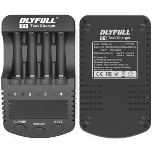 【送料無料】急速充電器 充電池用 DLYFULL T1 Ni-Cd/Ni-MH 単三(AA)/単四(AAA) 充電池の充電 急速充電 放電 リフレッシュ chobt 07