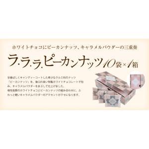 お菓子 食べ物 洋菓子 チョコレート ギフト ナッツチョコレート ピーカンナッツ/ラララ ピーカン18g×10袋 サロンドロワイヤル|chocola|02