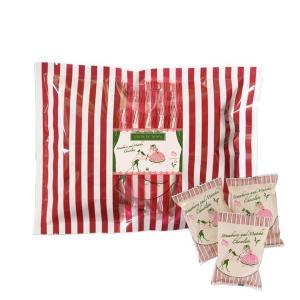 お中元 プレゼント 食べ物 洋菓子 チョコレート 詰め合せ セット 手土産 フリーズドライ/抹茶ストロベリーチョコレート130g/袋 サロンドロワイヤル|chocola|02