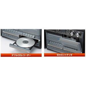ダブルカセット付CDにコピーできるマルチプレーヤー(TCDR-386WC/TCDR386WC)とうしょう(Wカセットマルチプレーヤー/WCDマルチプレーヤー)|choice-ippinkan|05