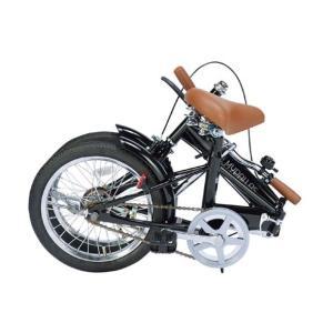 折りたたみ自転車16インチ My Pallas/マイパラス M-101-BK ブラック(折畳み自転車/折畳自転車/M101BK)|choice-ippinkan|02