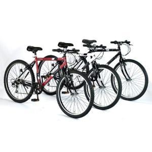 マウンテンバイク(MTB)26インチ マイパラス M-610S-BK ブラック(My Pallas/MTB26/シマノ製6段変速機付/6段ギア/6SP/自転車/M610SBK)|choice-ippinkan|02