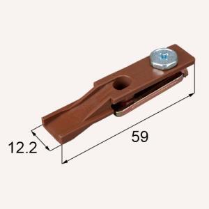 部品名 : 折れ戸用上枠用ピボット受け 商品コード : MDJ763 内容物 : 本体(MDJ763...