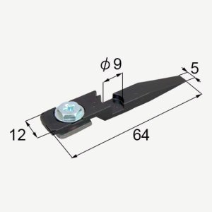 部品名 : ガイドローラ固定金具 商品コード : MDS199A 内容物 : 本体×1   06年W...