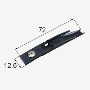 部品名 : ガイドローラ固定金具 商品コード : MDV16 内容物 : 本体×1   FL