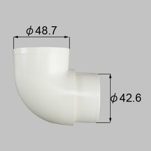 NETEX00092 送料込み LIXIL リクシル トステム エクステリア テラス屋根 雨樋 エルボ 92°エルボ NETEX00092