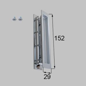 部品名 : スリム角型引手 商品コード : NETLV00073 (MZHZHDS50) 色 : フ...