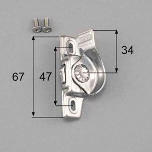 LIXIL トステム 窓 サッシ 引違い窓 錠(クレセント)   右側用 ネジカバー無  部品名 :...