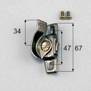 LIXIL トステム 窓 サッシ 引違い窓 錠(クレセント) 左側用 ネジカバー無 部品名 :  サ...