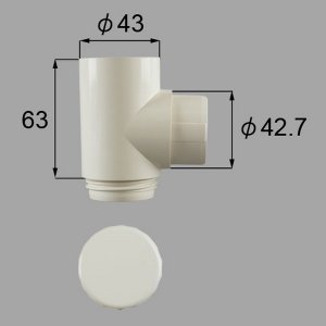 W-Y513-PCEA 送料込み LIXIL リクシル トステム エクステリア テラス屋根 雨樋 エルボ ドレンエルボΦ40用 W-Y513-PCEA